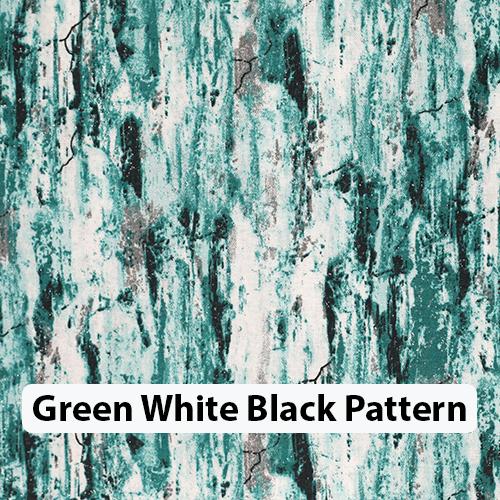 Green White Black Pattern