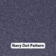 Navy Dot Pattern