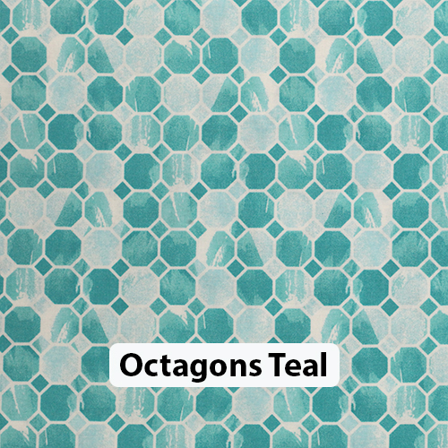 Octagons Teal