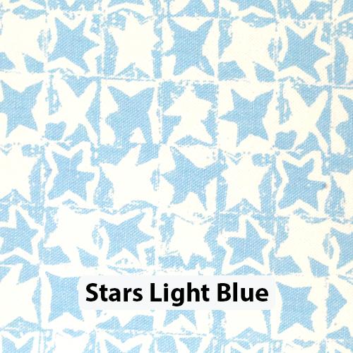 Stars Light Blue