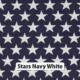 Stars Navy White