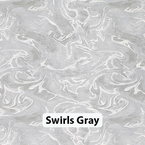Swirls Gray