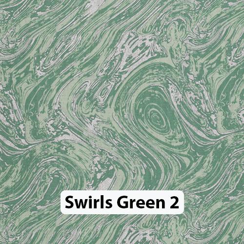 Swirls Green 2