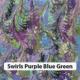 Swirls Purple Blue Green 1