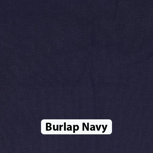 Burlap Navy