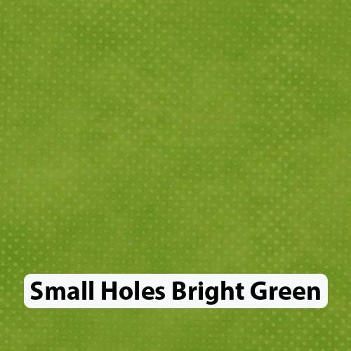 Small Holes Brt Green