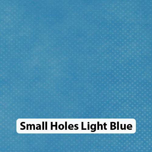 Small Holes Lt Blue