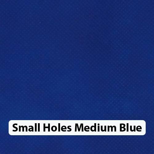 Small Holes Med Blue