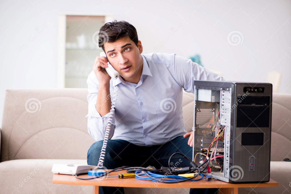 http://www.dreamstime.com/royalty-free-stock-image-angry-customer-trying-to-repair-computer-phone-support-image85446616