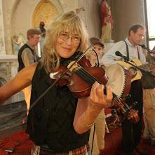 Peny and violin