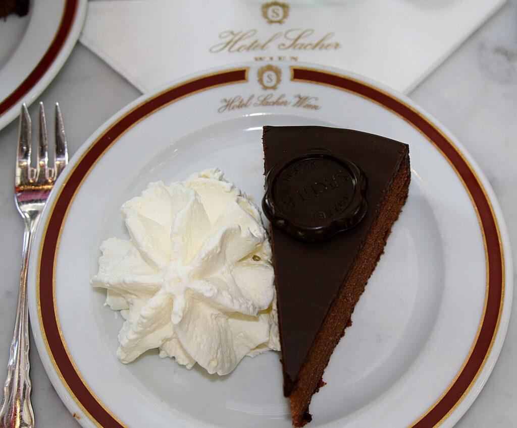 Sacher Torte, Sacher Hotel, Vienna, Austria