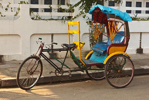 The Gunj India Rickshaw