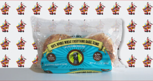 Trader Joe's 100 Percent Whole Wheat Everything Bagel Slims