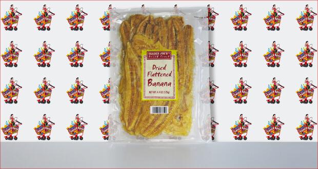 Trader Joe's Dried Flattened Banana