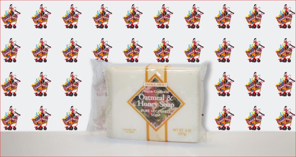 Trader Joe's Oatmeal and Honey Pure Vegetable Soap