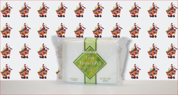 Trader Joe's Tea Tree Oil Pure Vegetable Soap
