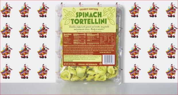 Trader Giotto's Spinach Tortellini