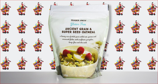 Trader Joe's Ancient Grain and Super Seed Oatmeal