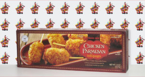 Trader Joe's Chicken Parmesan Lollipops