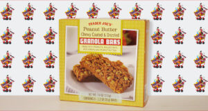 Trader Joe's Peanut Butter Chewy Coated and Drizzled Granola Bars
