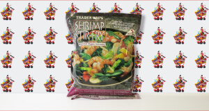 Trader Joe's Shrimp Stir Fry with Gourmet Pepper Seasoning
