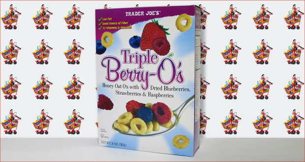 Trader Joe's Triple Berry O's Cereal