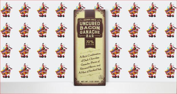 Trader Joe's Uncured Bacon Ganache Chocolate Bar
