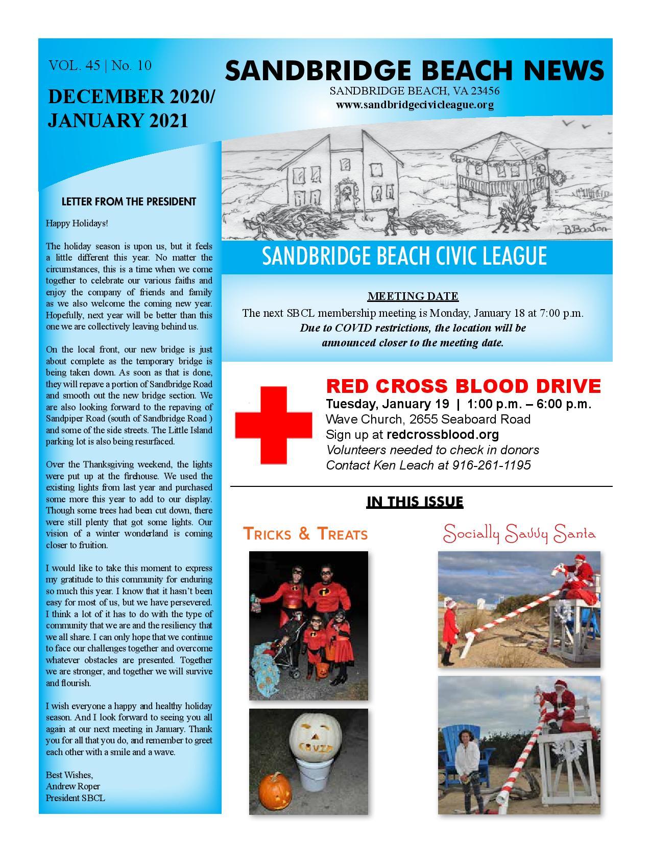 SBCL Newsletter DecJan 2020