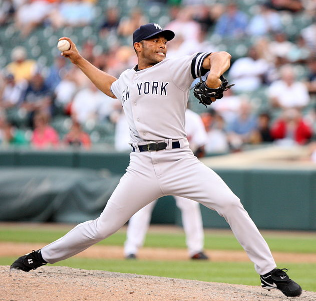 We all dream of the bygone days of Mariano Rivera / Photo Credit: Keith Allison on Flickr