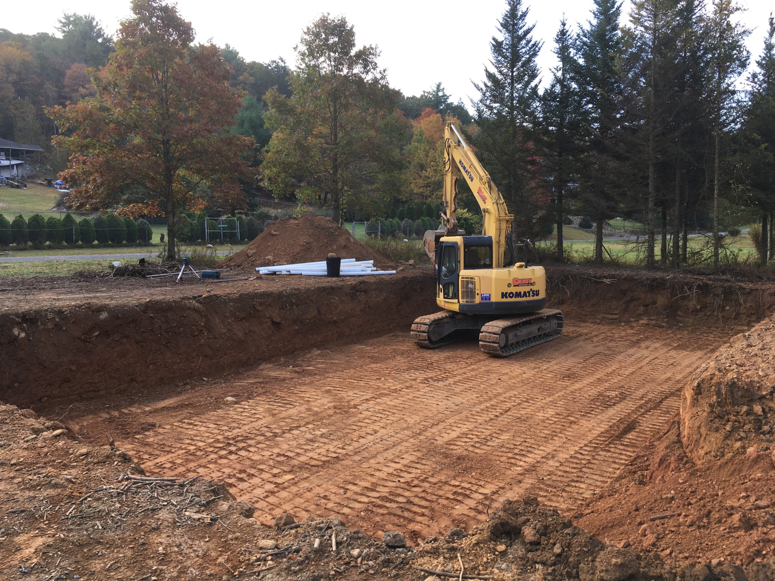 house-excavation-site work-residential