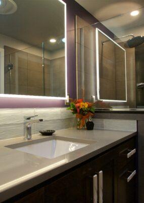 Classy Modern Bathroom Remodel