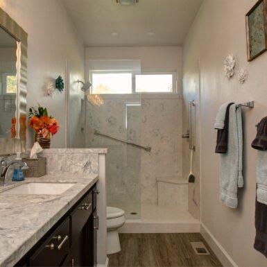 Finished Benson Bathroom Remodel