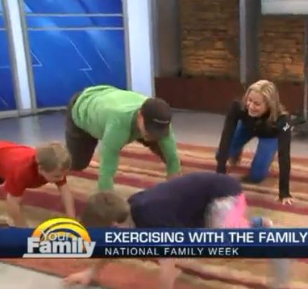Family-style Fitness builds Strong Confident Kids