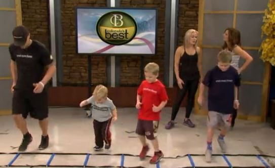Strong Confident Families – Fun tips for exercising with kids