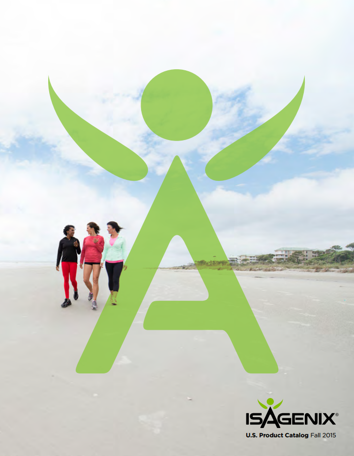Fantastic Fall 2015 Product Catalog from Isagenix!
