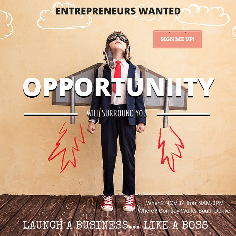 Entrepreneurs Wanted: Isagenix Opportunity Event