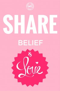 share belief and love