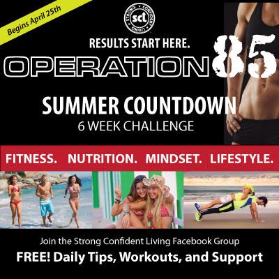 New Challenge! Operation 85 – Summer Countdown