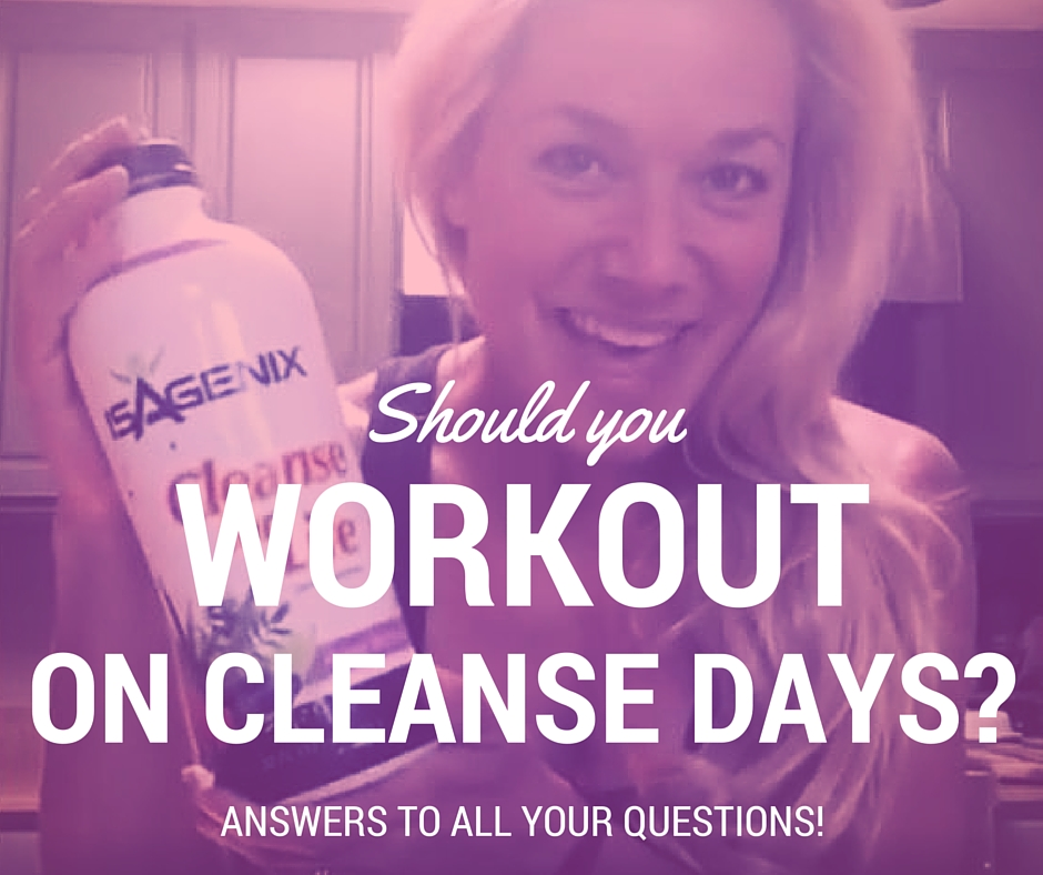 Should I Workout on a Cleanse Day?