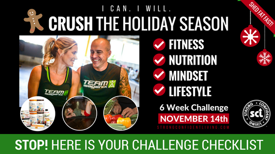 STOP! Here is Your Holiday Challenge Checklist