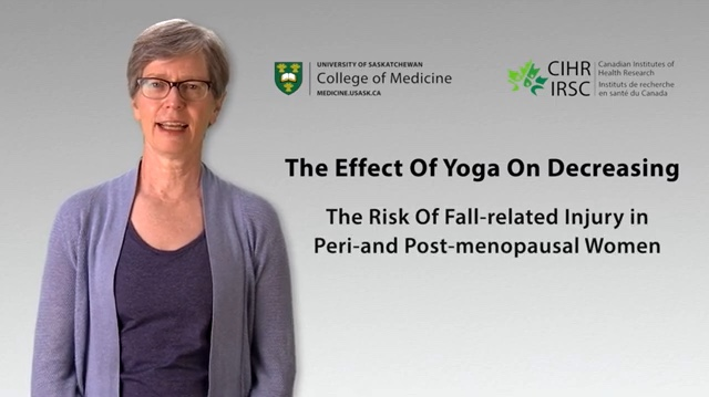 Balance Flow Yoga: Preventing Falls and Injuries. Translating Research into Practice!