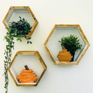 hexagonshelves