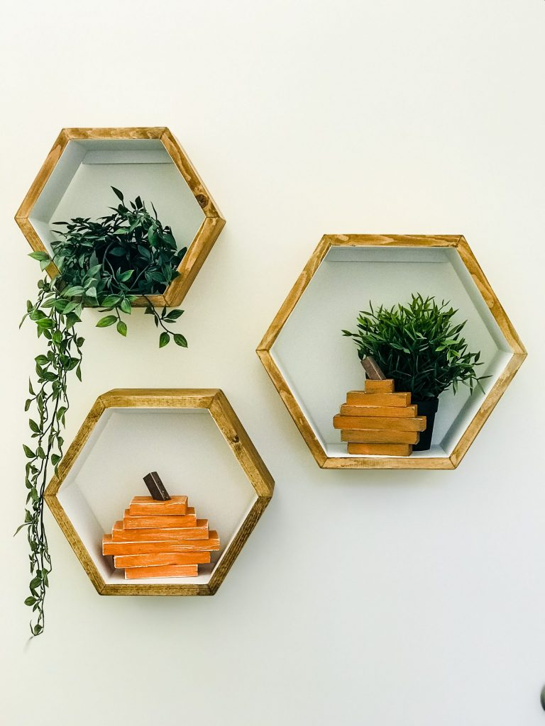 hexagonshelves