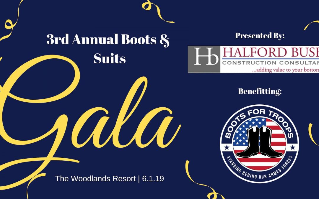 Boots For Troops Gala – June 1st, 2019