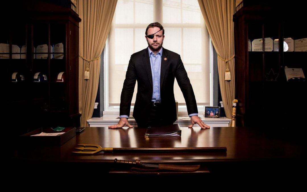DAN CRENSHAW'S NAVY SEAL COMBAT BOOTS TO BE AUCTIONED OFF IN RUNWAY SHOW AT BOOTS FOR TROOPS GALA
