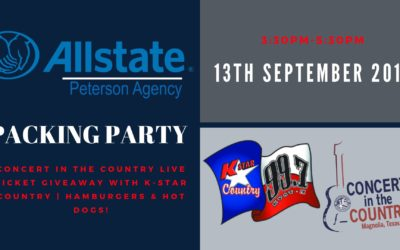 The Peterson Agency Packing Party