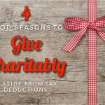 Johnson's Four Good Reasons To Give Charitably, Aside From Tax Deductions