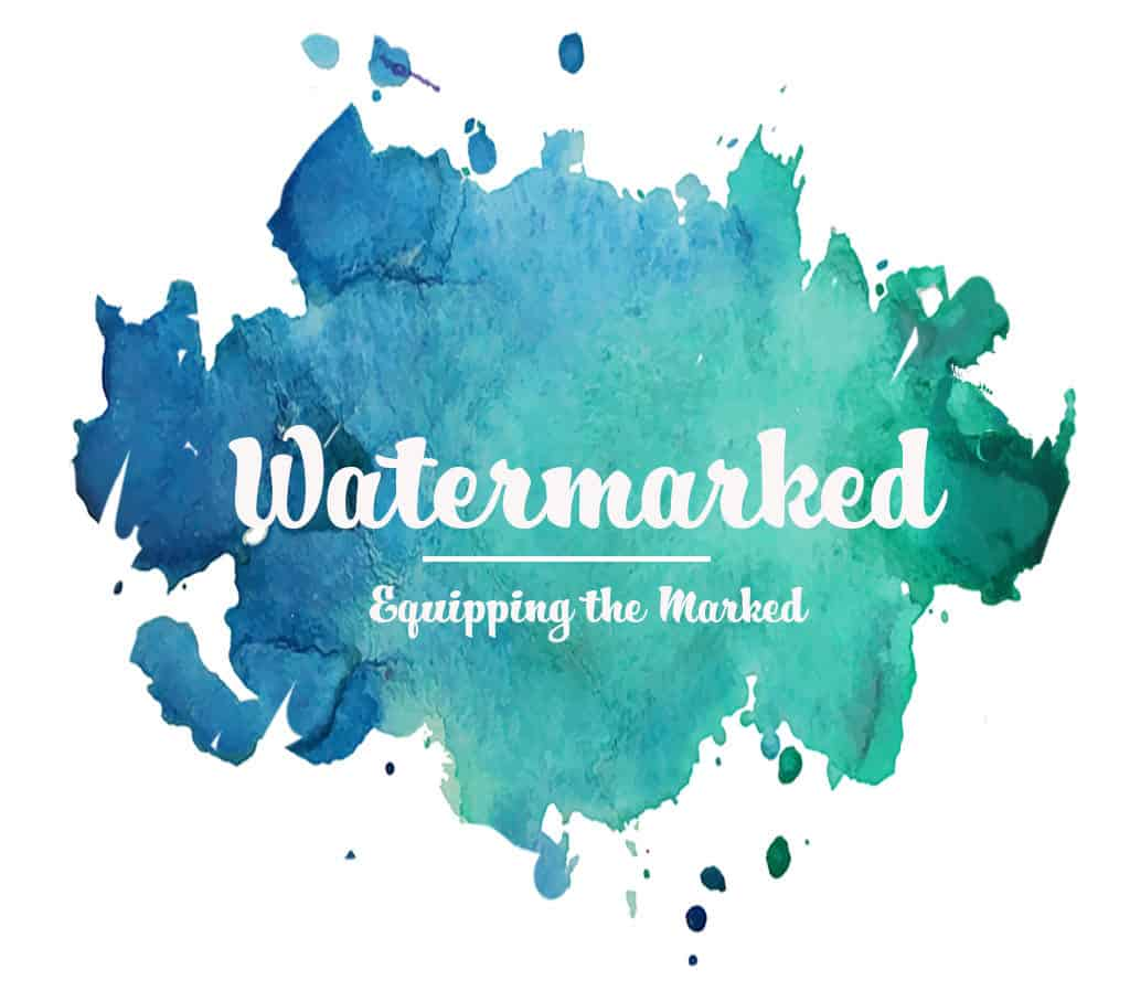 Welcome to the Watermarked Blog