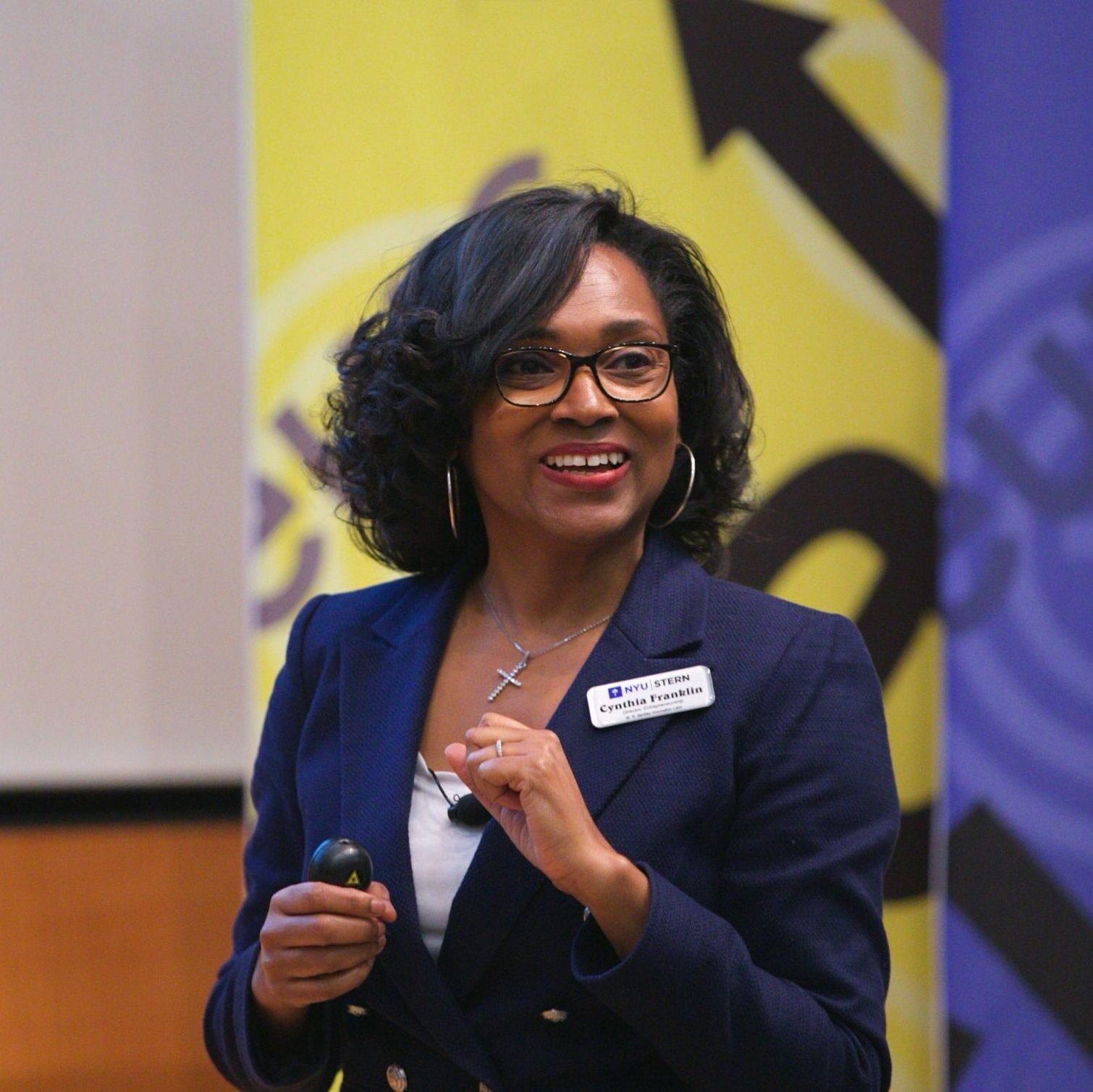 Berkley Center Director, Cynthia Franklin speaking at a Boot Camp.