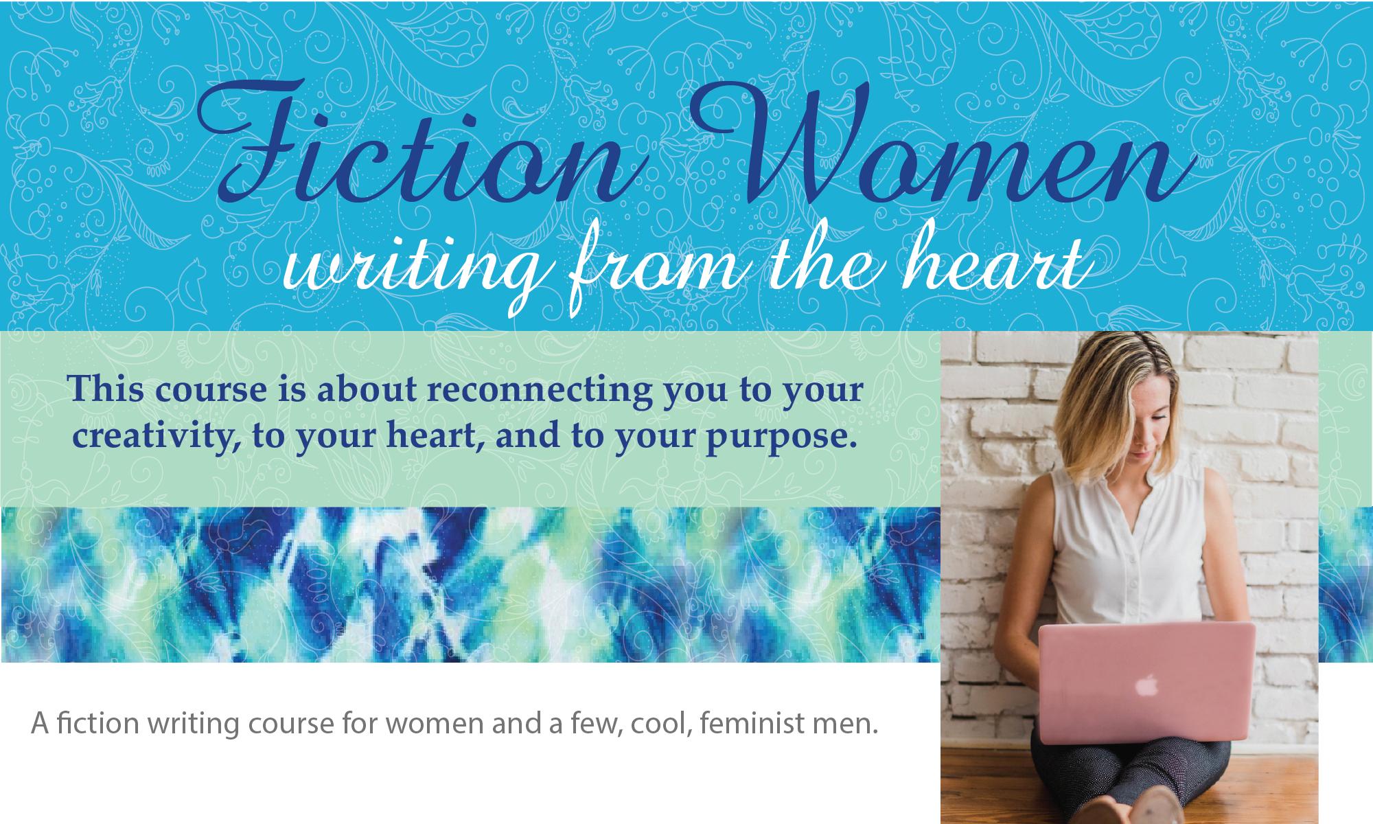 Fiction Women & a few, cool, feminist men